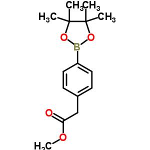 454185-98-9 methyl [4-(4,4,5,5-tetramethyl-1,3,2-dioxaborolan-2-yl)phenyl]acetate