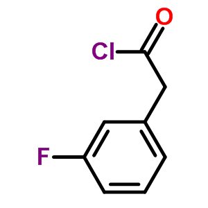 458-04-8, (3-fluorophenyl)acetyl chloride, CAS No 458-04-8