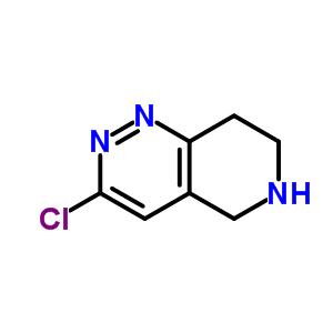 45882-63-1 3-chloro-5,6,7,8-tetrahydropyrido[4,3-c]pyridazine