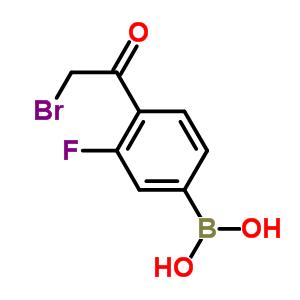 4-溴乙酰基-3-氟苯硼酸 481725-36-4