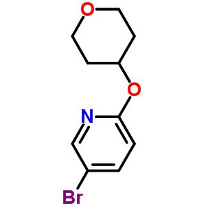 494772-07-5 5-bromo-2-(tetrahydro-2H-pyran-4-yloxy)pyridine