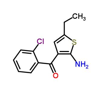 2-Amino-3-(2-chlorobenzoyl)-5-ethylthiophene 50508-60-6