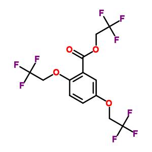 2,2,2-三氟乙基 2,5-二(2,2,2-三氟乙氧基)苯甲酸酯 50778-57-9