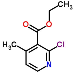 50840-02-3 ethyl 2-chloro-4-methylpyridine-3-carboxylate