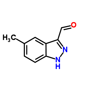 518987-35-4 5-methyl-1H-indazole-3-carbaldehyde