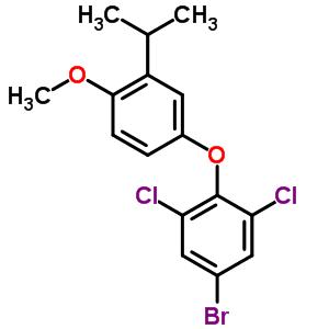 525575-58-0 5-bromo-1,3-dichloro-2-[4-methoxy-3-(1-methylethyl)phenoxy]benzene