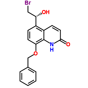 530084-79-8 8-(benzyloxy)-5-[(1R)-2-bromo-1-hydroxyethyl]quinolin-2(1H)-one