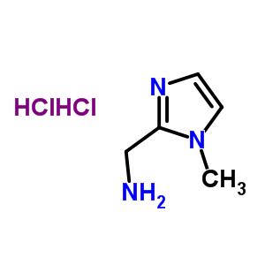 C-(1-METHYL-1H-IMIDAZOL-2-YL)-METHYLAMINE DIHYDROCHLORIDE 53332-67-5