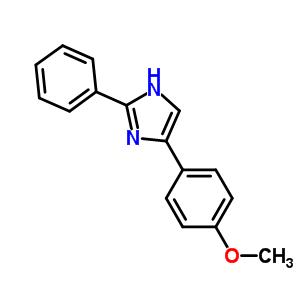 53458-08-5 4-(4-methoxyphenyl)-2-phenyl-1H-imidazole