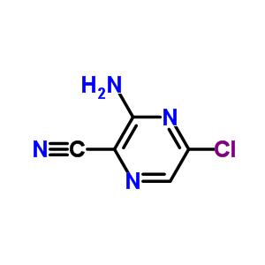 54632-11-0 3-amino-5-chloropyrazine-2-carbonitrile
