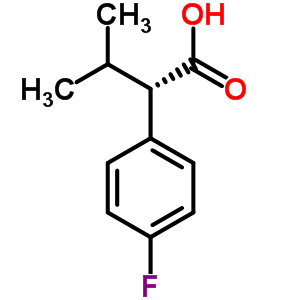 55332-37-1 (2S)-2-(4-fluorophenyl)-3-methylbutanoic acid