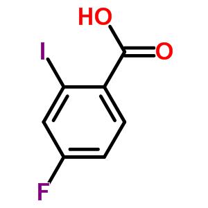 4-氟-2-碘苯甲酸 56096-89-0