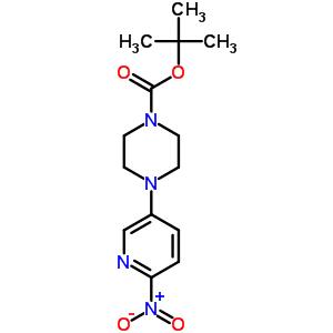4-(6-硝基-吡啶-3-基)-哌嗪-1-羧酸叔丁酯 571189-16-7