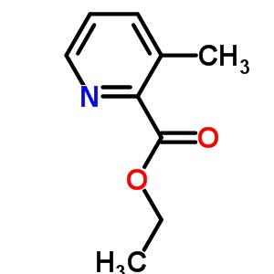 58997-10-7 Ethyl 3-methylpyridine-2-carboxylate