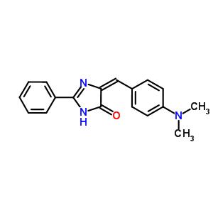 59591-90-1 (5E)-5-{[4-(dimethylamino)phenyl]methylidene}-2-phenyl-3,5-dihydro-4H-imidazol-4-one