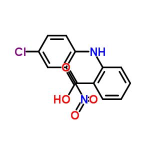 60091-87-4 2-[(4-chloro-2-nitrophenyl)amino]benzoic acid