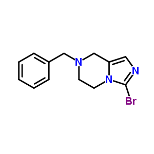 601515-08-6 7-benzyl-3-bromo-5,6,7,8-tetrahydroimidazo[1,5-a]pyrazine