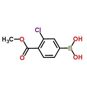 603122-82-3 [3-chloro-4-(methoxycarbonyl)phenyl]boronic acid