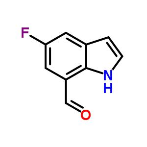 603306-52-1 5-fluoro-1H-indole-7-carbaldehyde