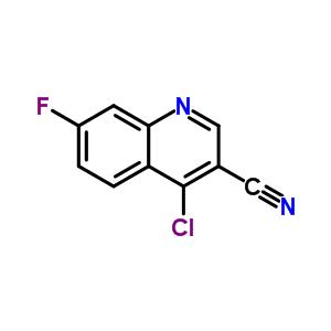 622369-70-4 4-chloro-7-fluoroquinoline-3-carbonitrile