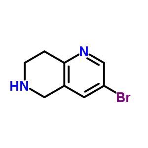 625100-00-7 3-Bromo-5,6,7,8-tetrahydro-1,6-naphthyridine