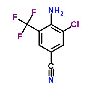 62584-25-2 4-amino-3-chloro-5-(trifluoromethyl)benzonitrile