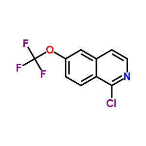 630423-44-8 1-chloro-6-(trifluoromethoxy)isoquinoline