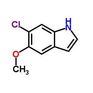 63762-72-1 6-chloro-5-methoxy-1H-indole