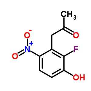 1-(2-氟-3-羟基-6-硝基苯基)丙-2-酮 649736-31-2