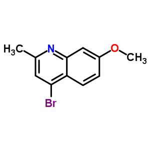 651042-71-6 4-bromo-7-methoxy-2-methylquinoline