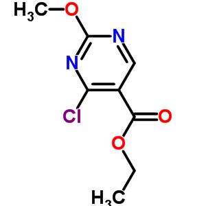 65269-18-3 ethyl 4-chloro-2-methoxypyrimidine-5-carboxylate