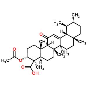 11-羰基-beta-乙酰乳香酸 67416-61-9