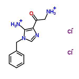 69195-91-1 4-(ammonioacetyl)-1-benzyl-1H-imidazol-5-aminium dichloride