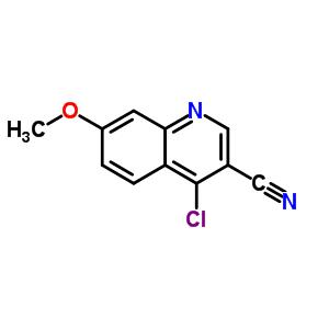 73387-74-3 4-chloro-7-methoxyquinoline-3-carbonitrile
