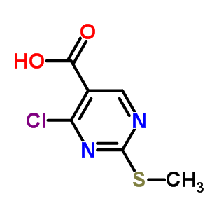 74840-34-9 4-chloro-2-(methylsulfanyl)pyrimidine-5-carboxylic acid