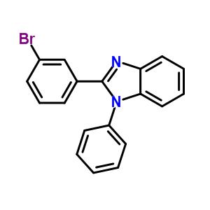 2-(3-溴苯基)-1-苯基-1H-苯并咪唑 760212-40-6