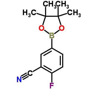 775351-57-0 2-fluoro-5-(4,4,5,5-tetramethyl-1,3,2-dioxaborolan-2-yl)benzonitrile