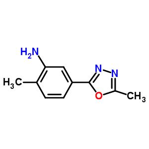 796070-75-2 2-methyl-5-(5-methyl-1,3,4-oxadiazol-2-yl)aniline