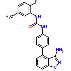 796967-16-3 1-[4-(3-amino-1H-indazol-4-yl)phenyl]-3-(2-fluoro-5-methylphenyl)urea