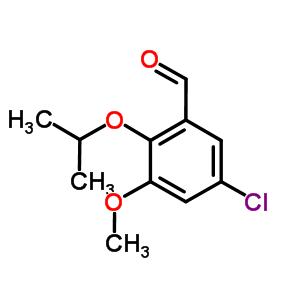 827593-20-4 5-chloro-3-methoxy-2-(propan-2-yloxy)benzaldehyde