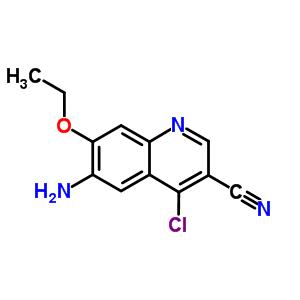 848133-87-9 6-amino-4-chloro-7-ethoxyquinoline-3-carbonitrile