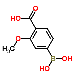 851335-12-1 4-(dihydroxyboranyl)-2-methoxybenzoic acid