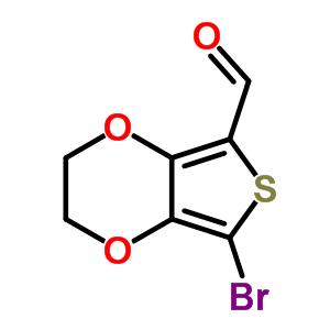 852054-42-3 7-bromo-2,3-dihydrothieno[3,4-b][1,4]dioxine-5-carbaldehyde