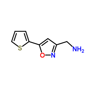 852180-45-1 1-[5-(thiophen-2-yl)-1,2-oxazol-3-yl]methanamine