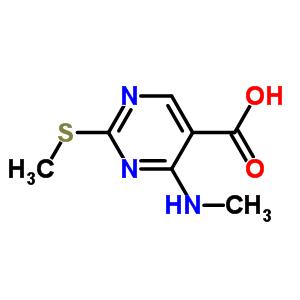 863028-98-2 4-(methylamino)-2-(methylsulfanyl)pyrimidine-5-carboxylic acid