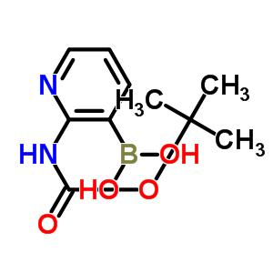 2-(叔丁氧羰基氨基)吡啶-3-硼酸 863753-35-9