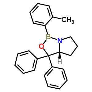 865812-10-8 (3aR)-1-(2-methylphenyl)-3,3-diphenyltetrahydro-3H-pyrrolo[1,2-c][1,3,2]oxazaborole