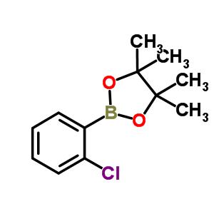 870195-94-1 2-(2-chlorophenyl)-4,4,5,5-tetramethyl-1,3,2-dioxaborolane