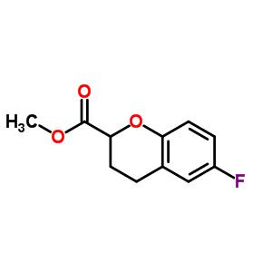 Methyl-6-Fluoro-3,4-Dihydro-2H-Chromene-2-Carboxylate 874649-82-8