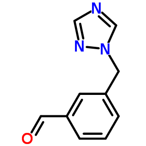 876316-30-2 3-(1H-1,2,4-triazol-1-ylmethyl)benzaldehyde